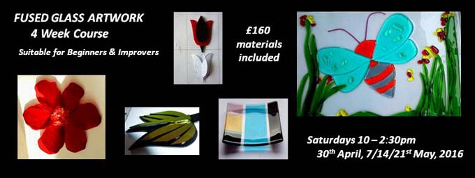 Fused Glass Fundraiser FB Banner
